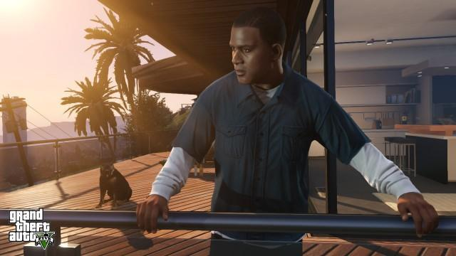 GTA5 166 Franklin FranklinHouse