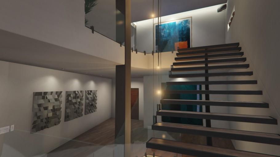 Gtaonline Apartment Stilthouse 06 Staircase