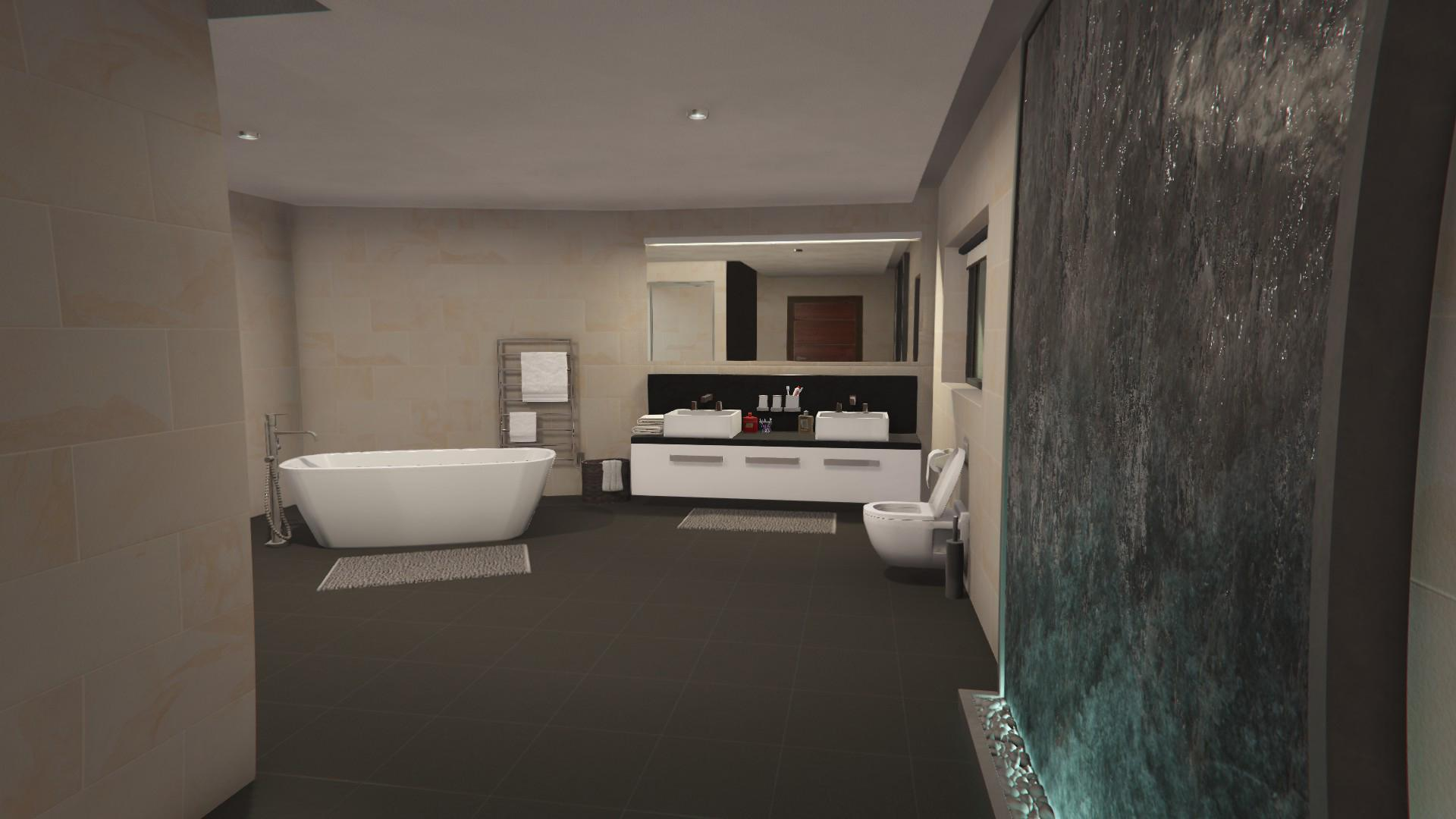 Apartment Stilthouse 09 Bathroom Waterfall