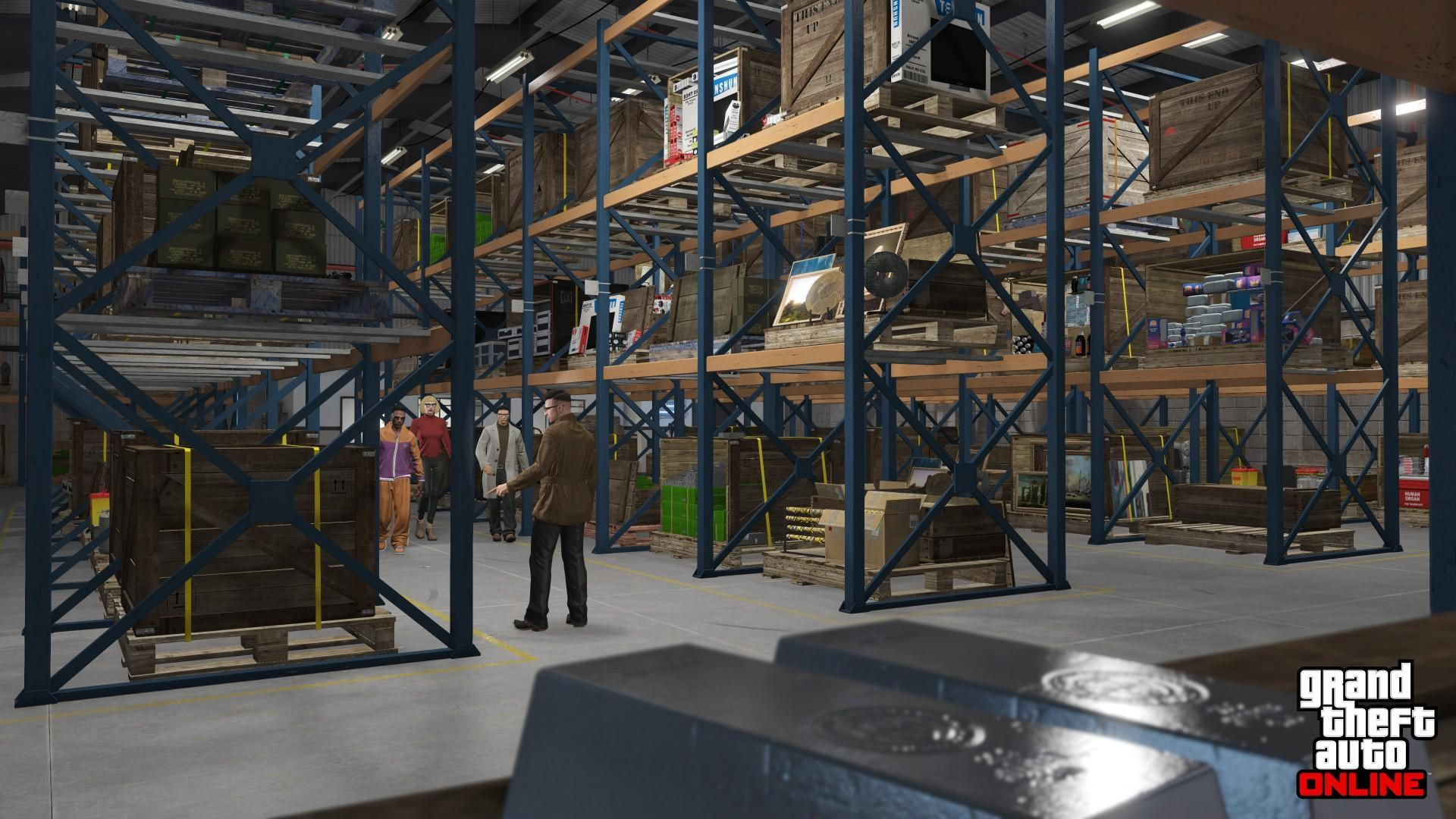 gta online warehouse