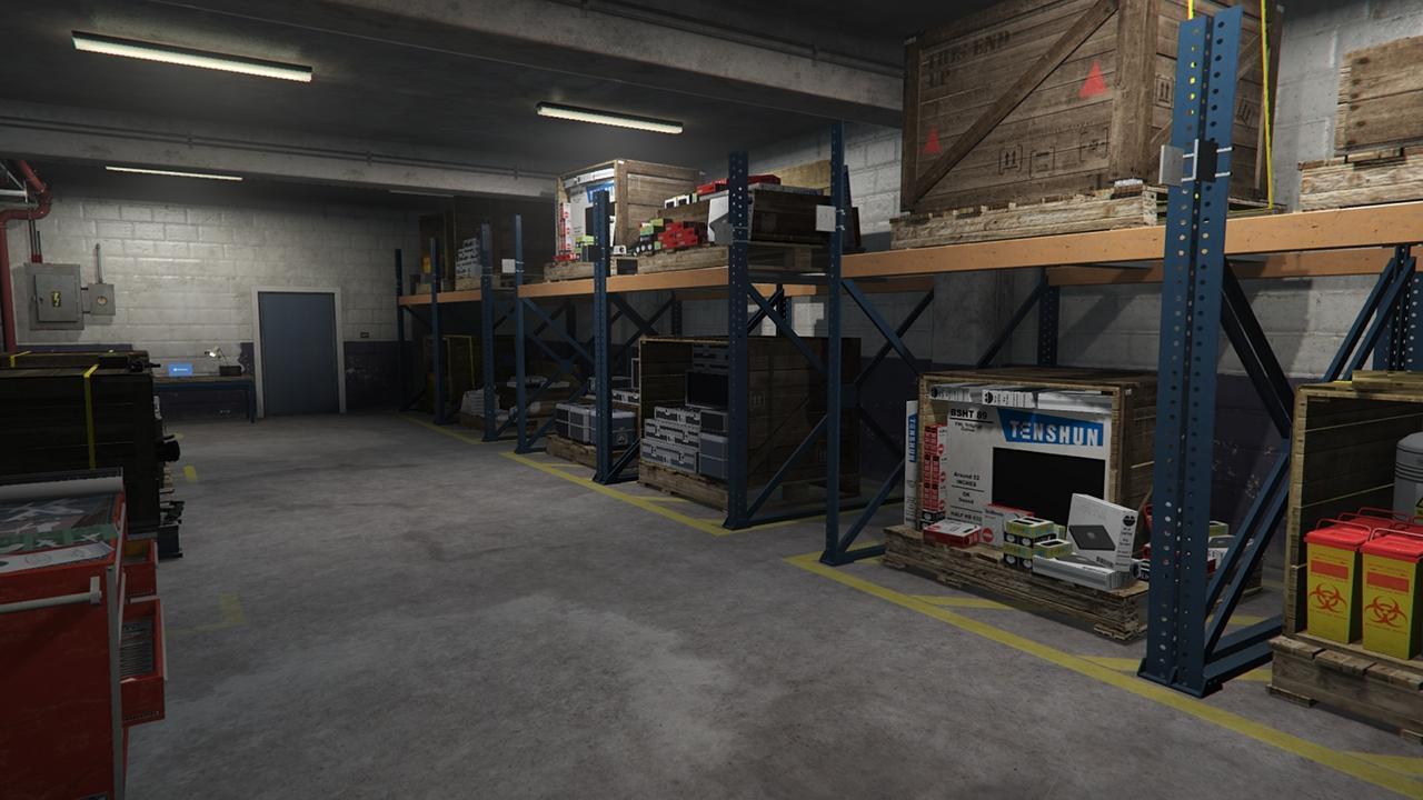 Pier 400 Utility Building Gta Online Properties Database