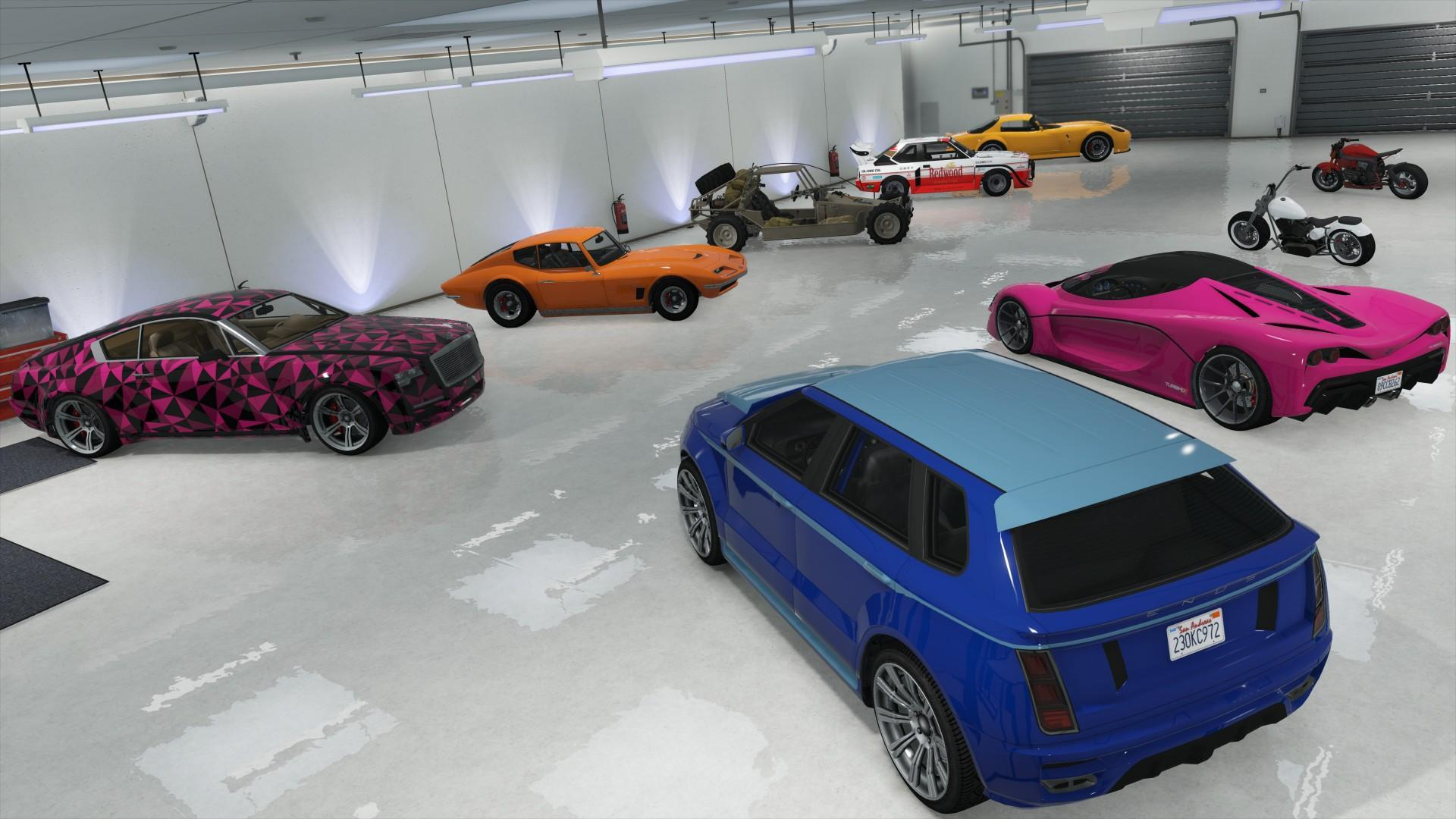 Gtaonline Apartment Highend Garage 1 Gtaonline Apartment Highend Garage 2