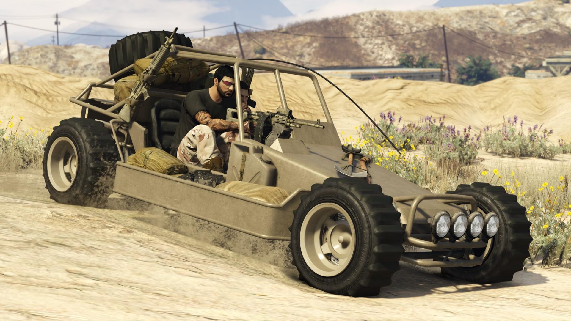 Dune FAV - GTA V & GTA Online Vehicles Database & Statistics