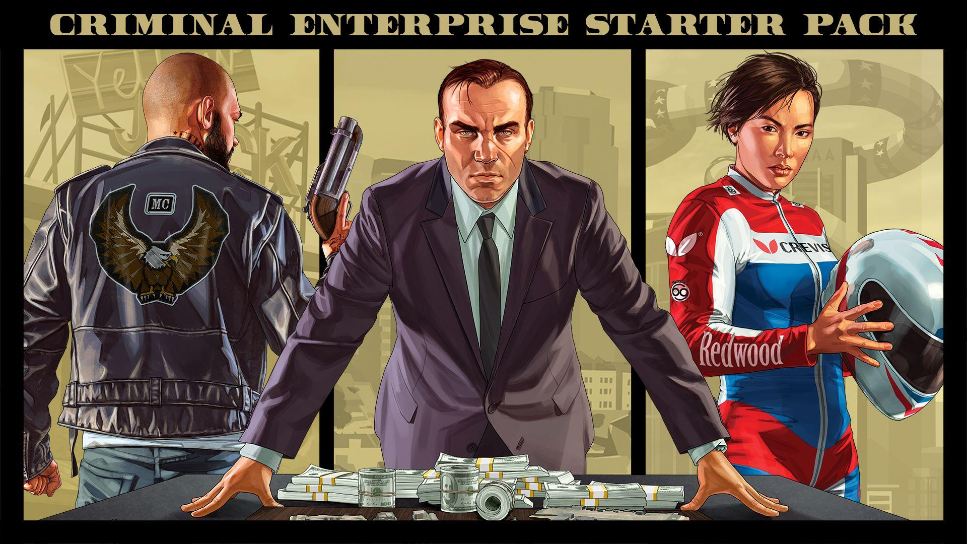 Gta Online Criminal Enterprise Starter Pack Full Content