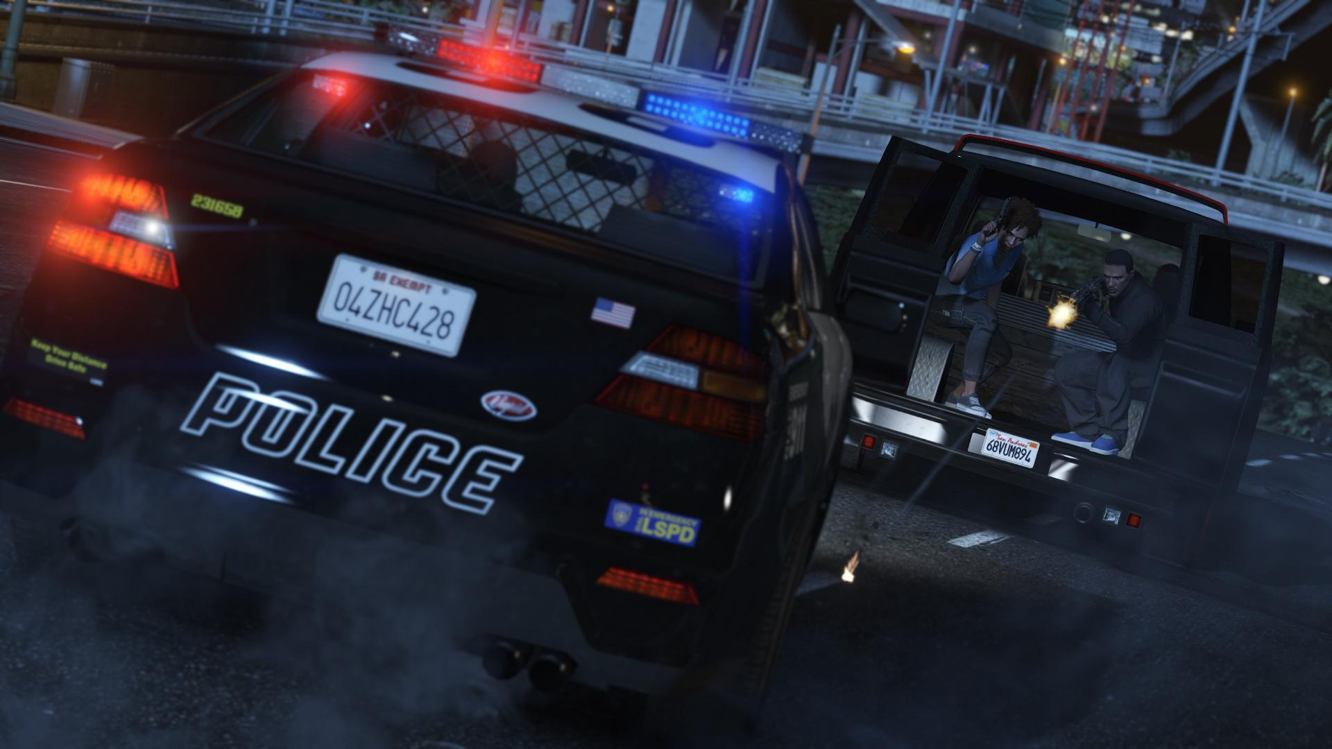Police Cruiser (Interceptor) - GTA V & GTA Online Vehicles