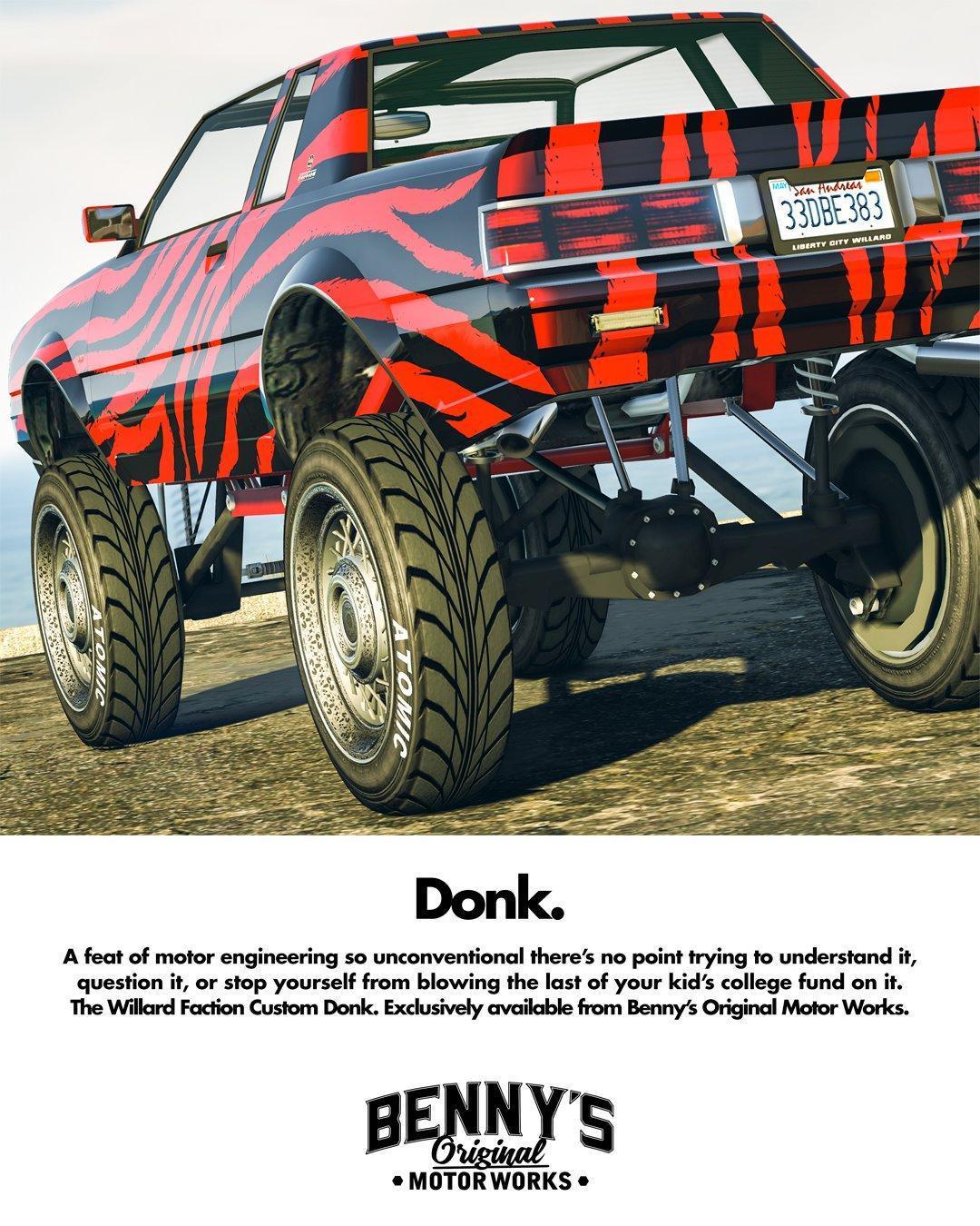 Faction Custom Donk - GTA V Vehicles Database & Statistics - Grand