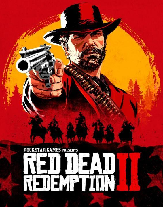 RDR 2 Official Cover Art