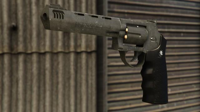 GTA5 Weapon HeavyRevolver
