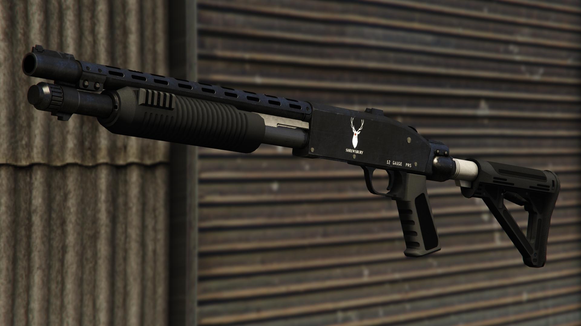 Pump Shotgun Gta V Weapons Database Amp Statistics Grand