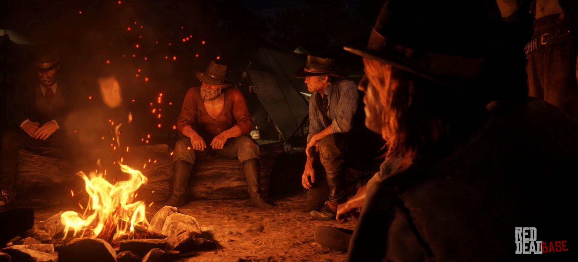 Uncle Red Dead Redemption 2 Characters Red Dead