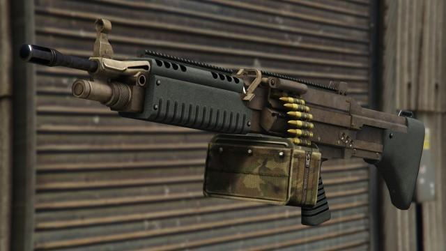 GTA5 Weapon CombatMG