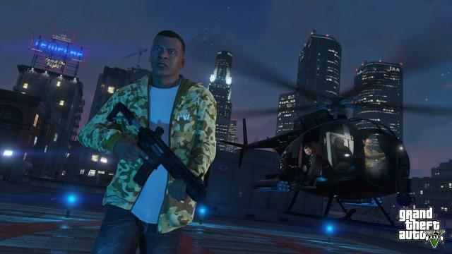 GTA5 NextGen 012 Franklin Buzzard