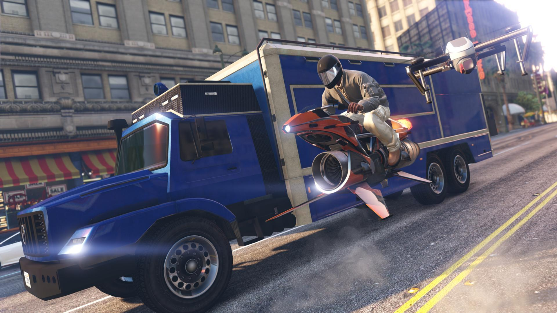 Oppressor MK II - GTA V Vehicles Database & Statistics - Grand Theft