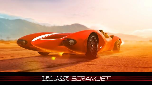 GTA Online: Declasse Scramjet and Hunting Pack Mode Out Now