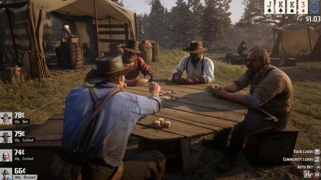 Red Dead Redemption 2 Table Games Guide: All Mini-Games