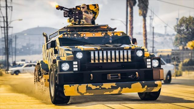 GTA Online: HVY Menacer Weaponized Vehicle Now Available + Bonuses & Discounts