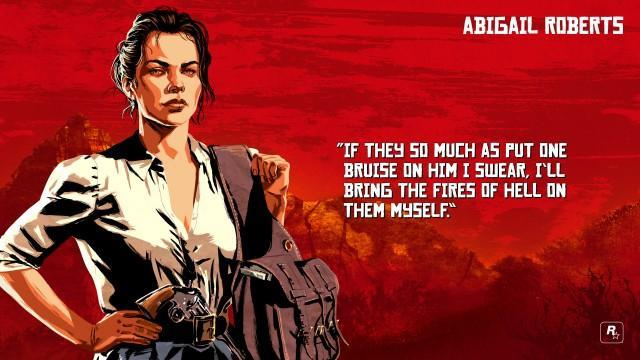 Abigail Roberts Marston Red Dead Redemption 2 Characters
