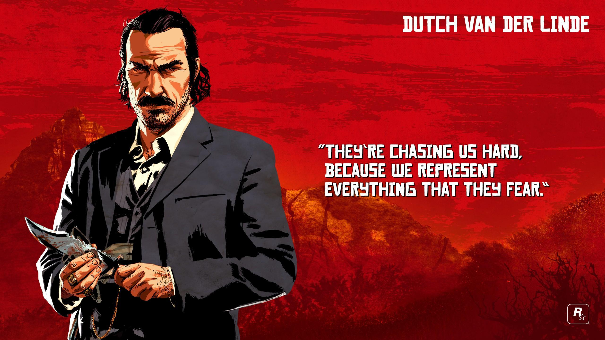 RDR2 Artwork Characters Dutch