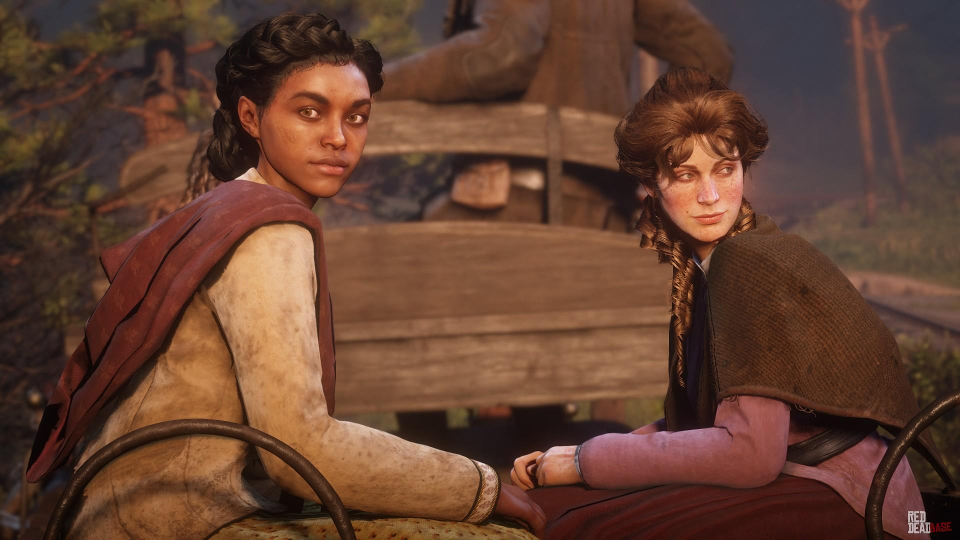Mary-Beth Gaskill - Red Dead Redemption 2 Characters - Red