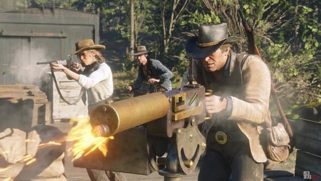 Maxim Gun / Gatling Gun - Red Dead Redemption 2 Weapons Database