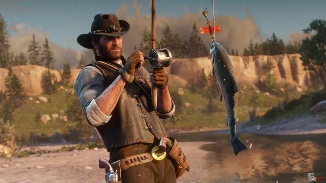 Red Dead Redemption 2 Fishing Guide: How to Fish, Bait and Fishing Tips