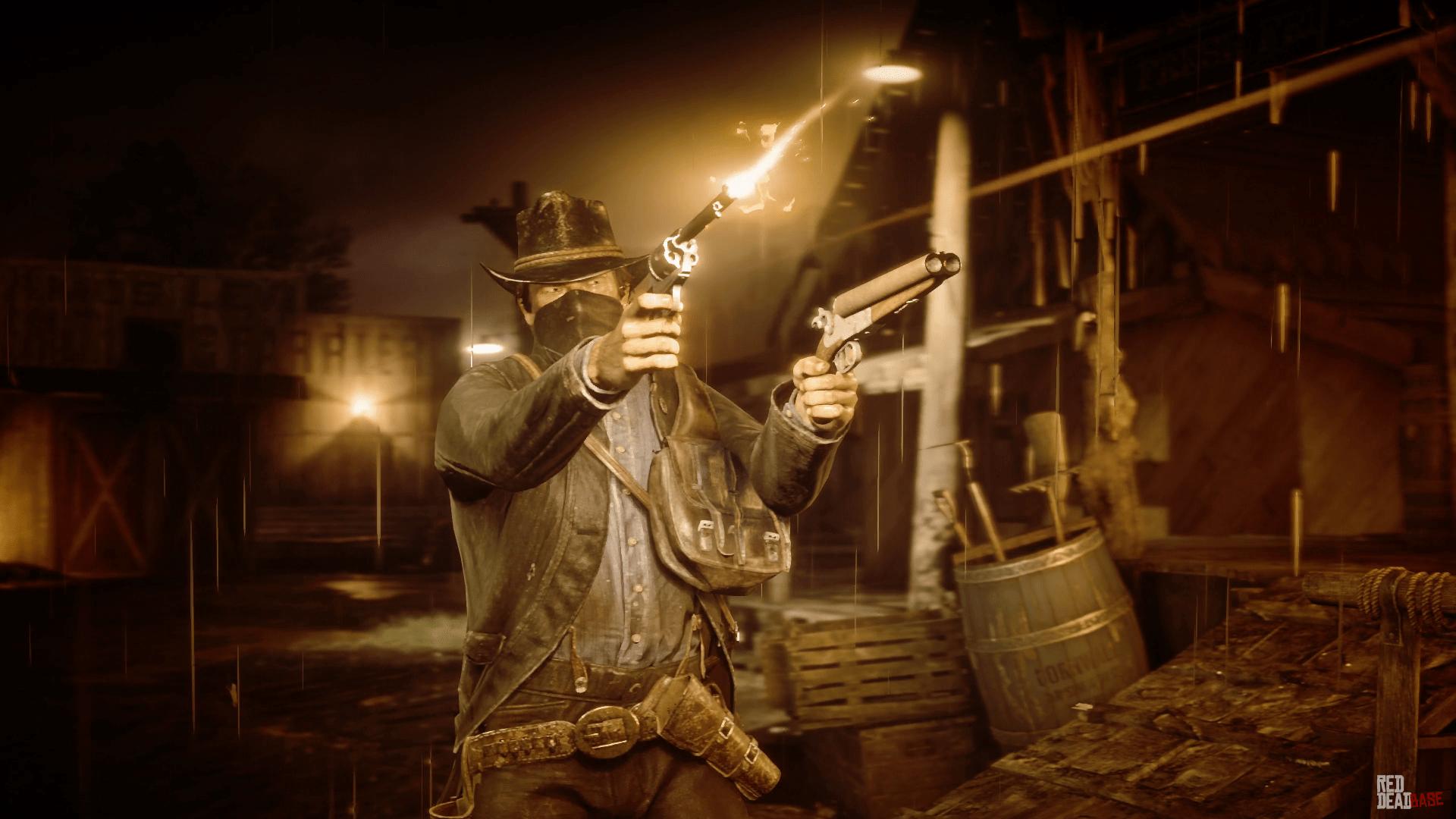 sawedoff shotgun red dead redemption 2 weapons database