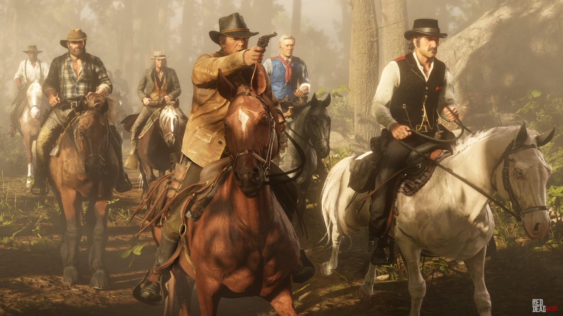 RDR2 HandsOnPreviews 44 ArthurMorgan Dutch JohnMarston BillWilliamson Hosea Matthews Lenny Summers DutchGang Horse