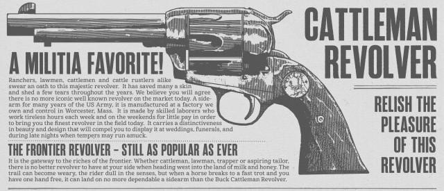 RDR2 Weapons CattlemanRevolver