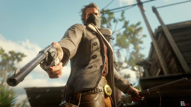 Red Dead Redemption 2 Weapons: Details, Dead Eye & New Screenshots!