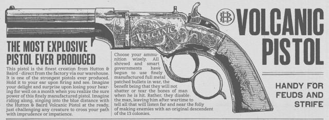 RDR2 Weapons VolcanicPistol