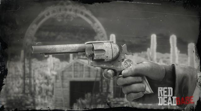John S Cattleman Revolver Rdr2 Amp Red Dead Online Weapons