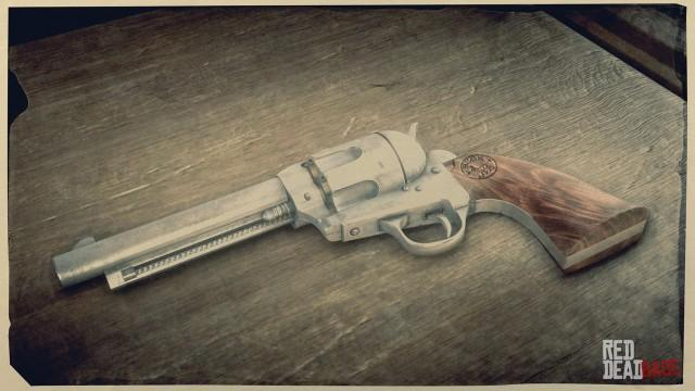 RDR2 Weapon CattlemanRevolver 2