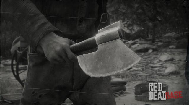 RDR2 Weapon Cleaver