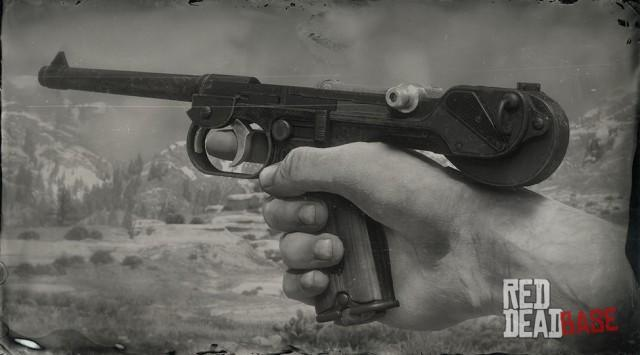 RDR2 Weapon SemiAutomaticPistol