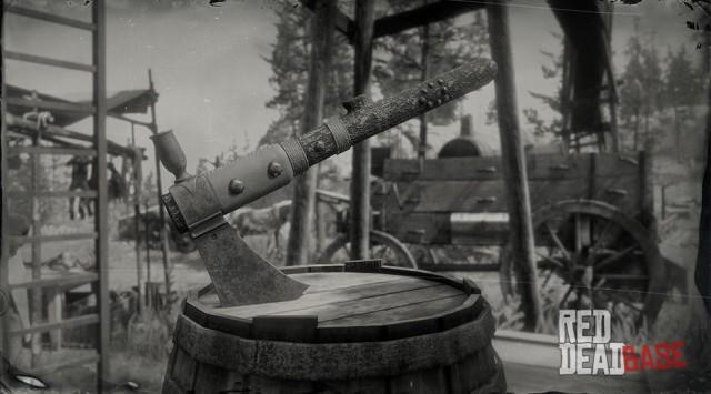 RDR2 Weapon TomahawkHoming