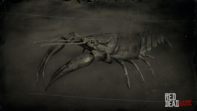 RDR2 Animal RedSwampCrayfish