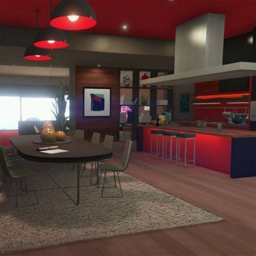 Gta 1561 San Vitas Street Apartment: Eclipse Towers, Penthouse Suite 2