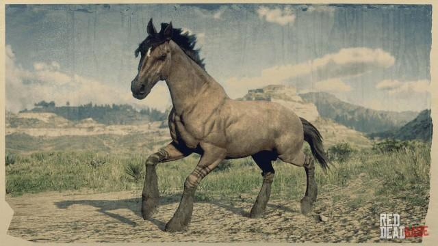 Tiger Striped Bay Mustang Red Dead Redemption 2 Horses