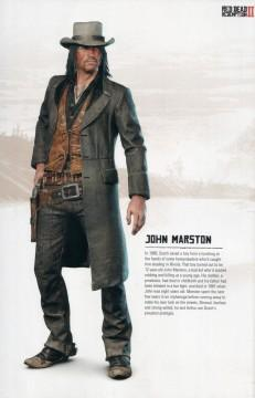 RDR2 Artwork CharacterBio JohnMarston
