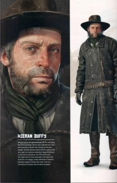 RDR2 Artwork CharacterBio KieranDuffy
