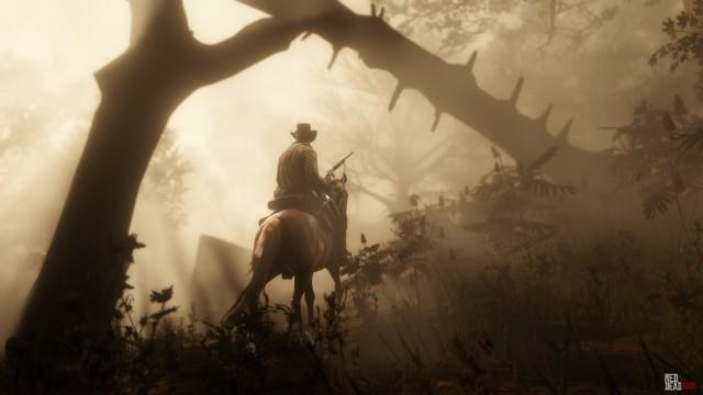 RDR2 Forest Riding 2