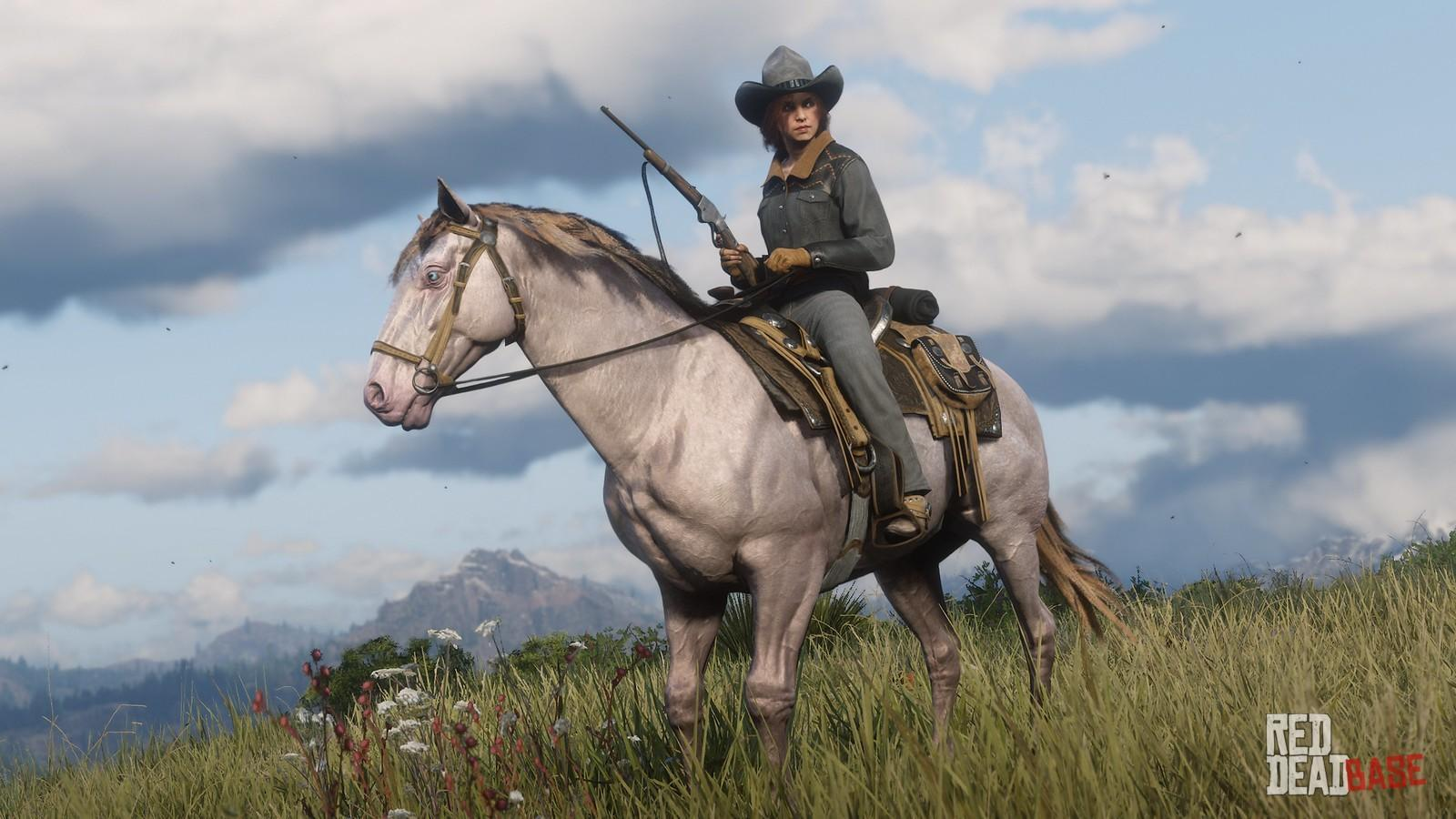 RDR2 Online AndalusianHorse PerlinoAndalusianHorse
