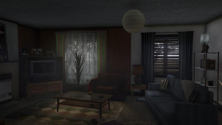 GTAOnline Apartment LowEnd 1 LivingRoom