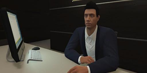 GTAOnline Office Personnel Male