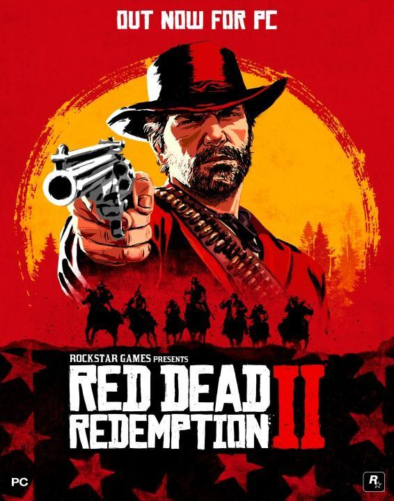 RDR 2 Cover PC
