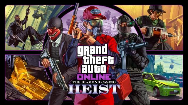 GTA V Artwork Diamond Casino Heist