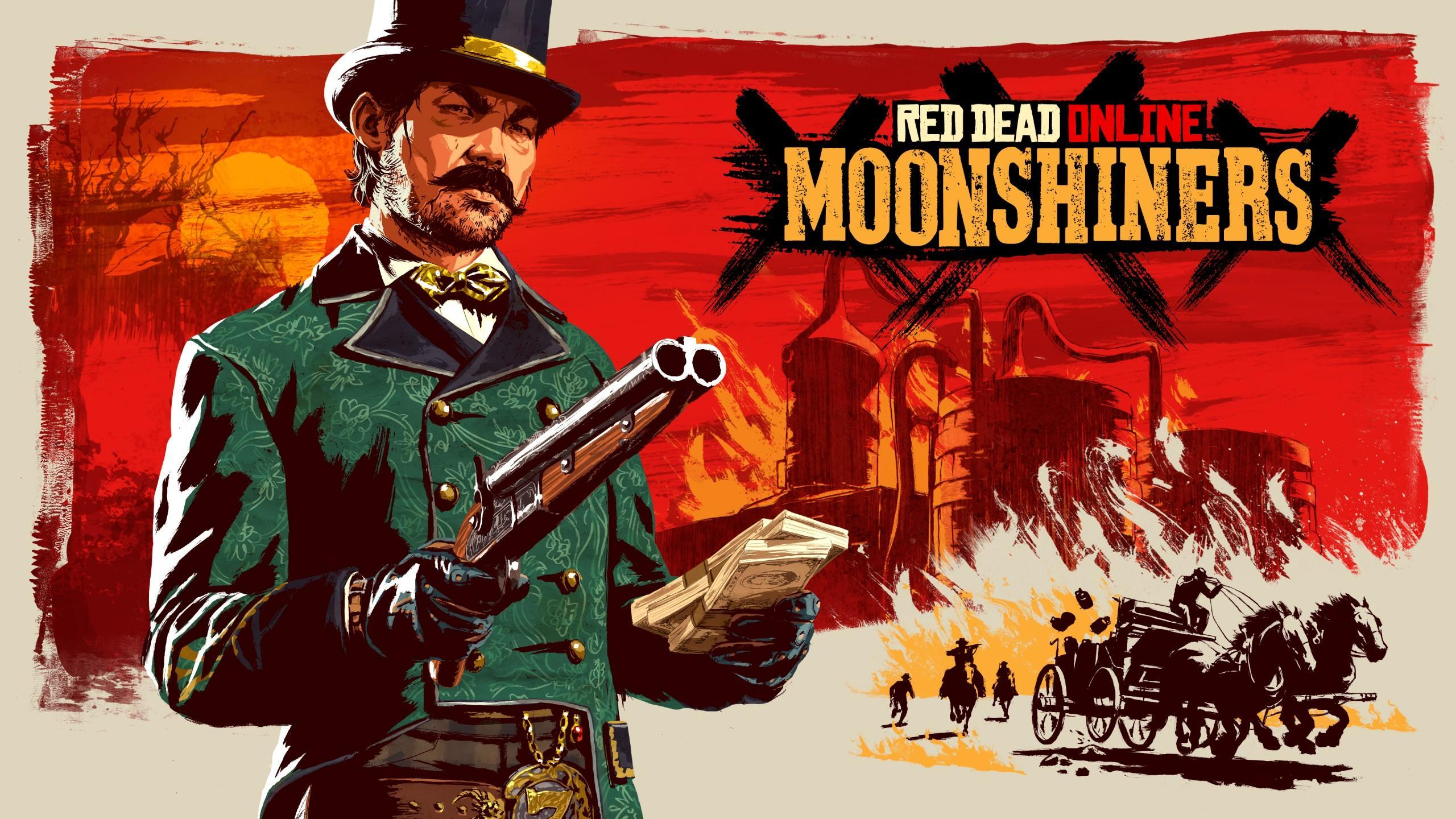 Red Dead Online: Moonshiners A New Frontier Pursuit Update Coming on December 13th
