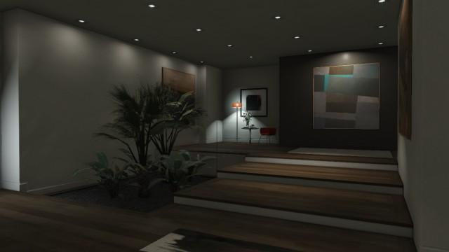 GTAOnline Apartment HighEndUpdated 01 Hallway