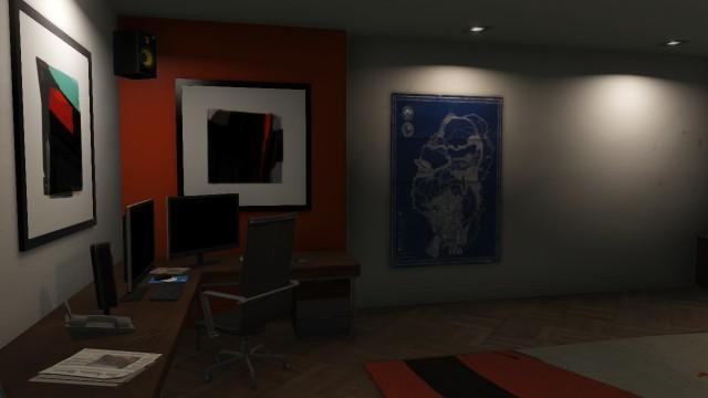 GTAOnline Apartment HighEnd 06 Office
