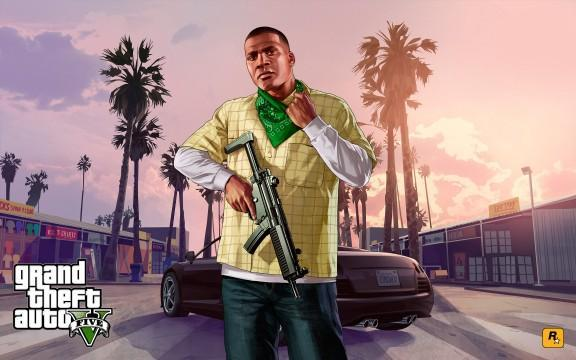 GTA V Artwork Franklin 3